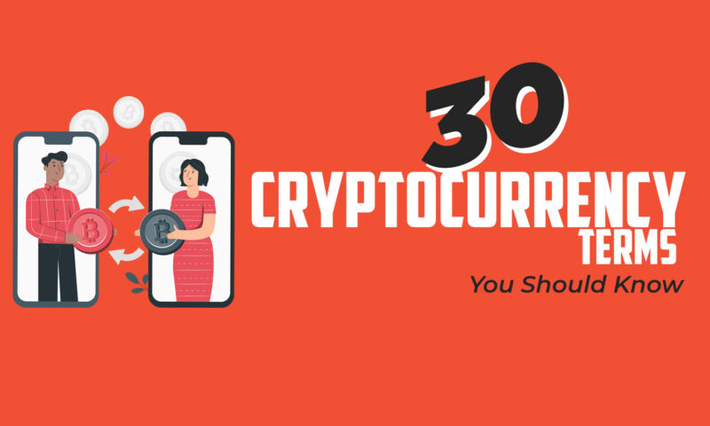 30 Top Cryptocurrency Terms You Should know in 2021