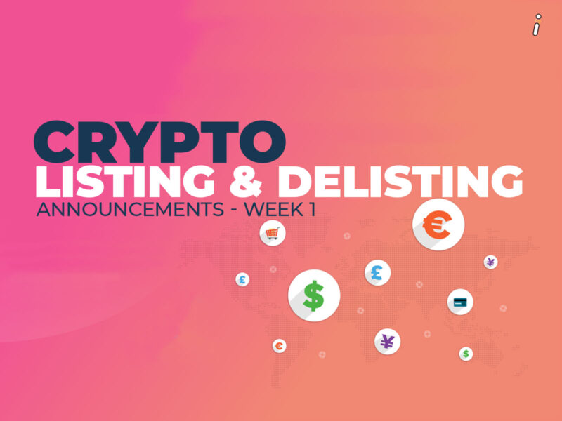 Crypto Listing and Delisting Announcements